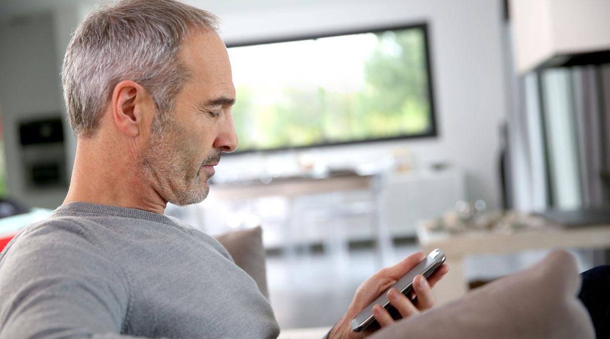 Mit dem Smartphone haben Sie Ihre Haustechnik oft bestens im Griff.