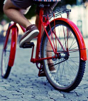 Die Anzahl der Radfahrer wird in Zukunft noch steigen.