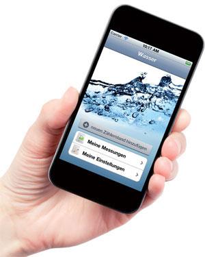 Die App für Ihren Wasserverbrauch.