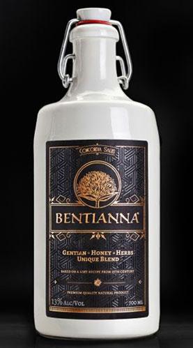 BENTIANNA - der neue Honig-Wein-Kräuter-Aperitif